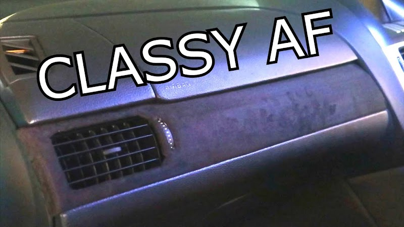 Car Interior Alcantara Wrap