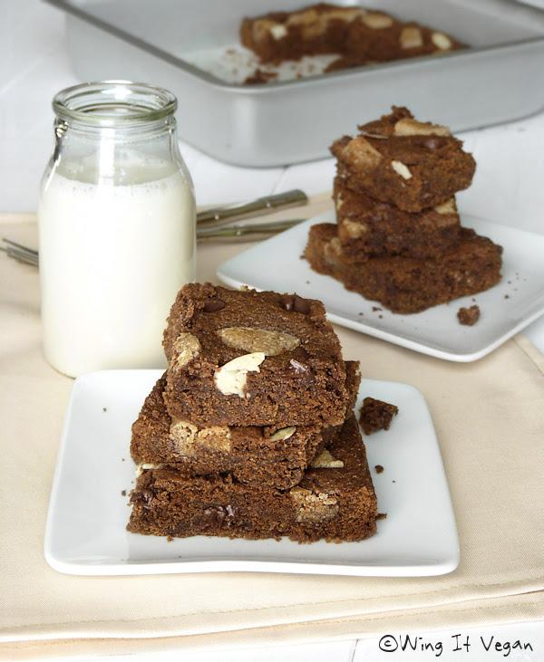 Chocolate-Almond Squares
