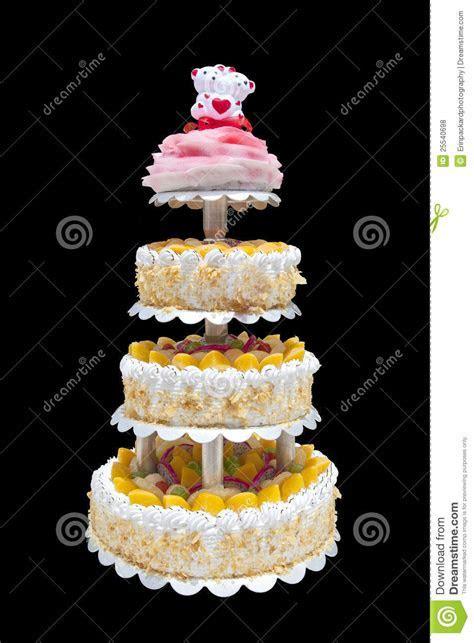 Chinese Wedding Cake stock photo. Image of elegant, fruit