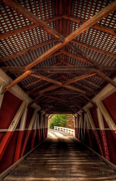 Pennsylvanian covered bridge