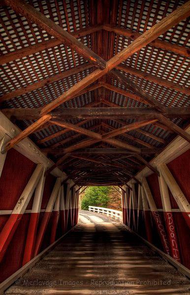 Pennsylvanian covered bridge