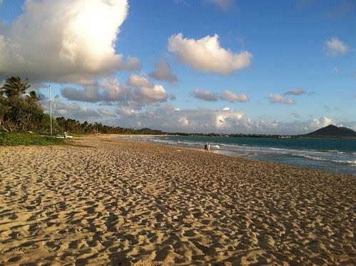 Kailua beach early morning