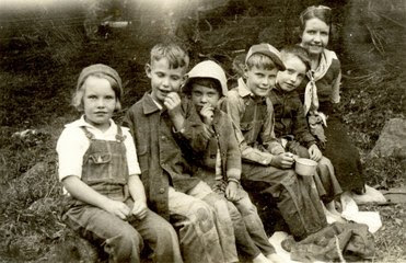 Children - Enduring the Great Depression