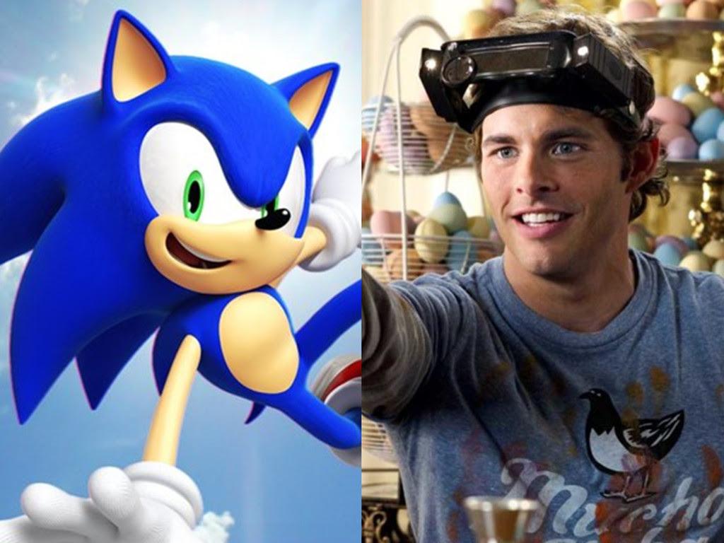 Resultado de imagem para James Marsden Sonic, the Hedgehog