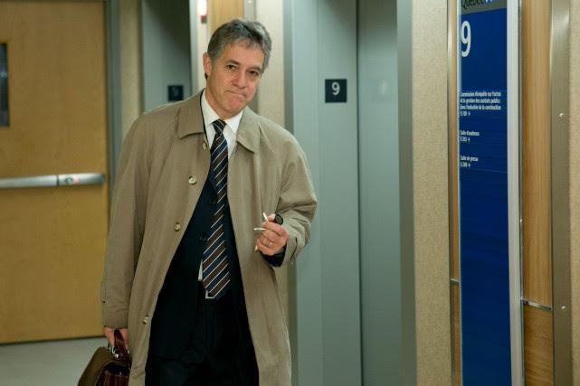Renaud Lachance était présent audépart à la retraite... (PHOTO DAVID BOILY, LA PRESSE)