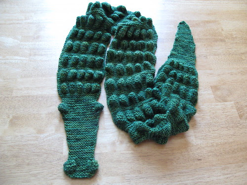 Alligator Scarf