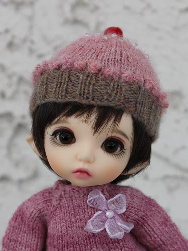 Cupcake hat fits Pukifee and Nappy Choo