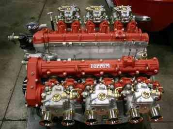 Ferrari Engine 48l 4 Cam V 12 From Ferrari 400 Gt