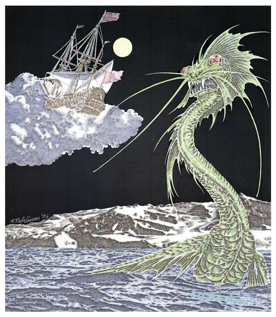 Murray Tinkelman - H.P Lovecraft Illustration 3