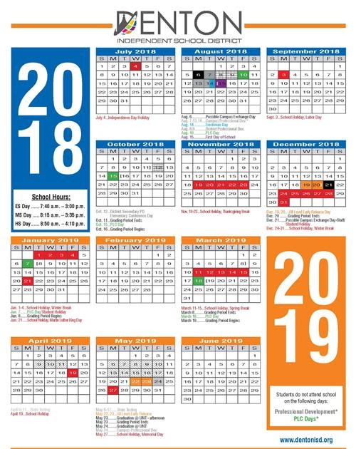 Denton Isd Calendar 2022 23.2022 Calendar Denton Isd Calendar 2021 22