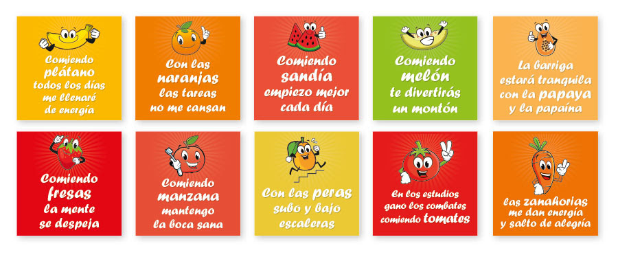 Taller 1 Frutas Y Verduras En Colores Programa Pipo