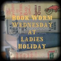 Book Worm Wednesday, Book Worm Wednesday Blog Hop Badge at LadiesHoliday.com