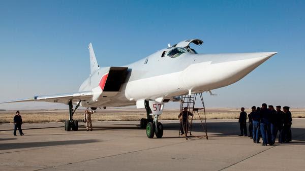 Cazas rusos en la base de Hamadán, en Irán (AP)
