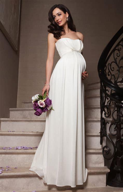 Annabella Maternity Wedding Gown (Ivory)   Maternity