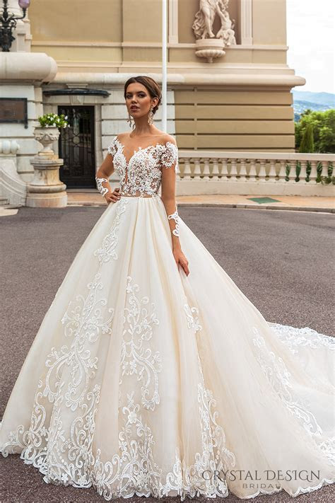 Crystal Design 2017 Wedding Dresses ? Haute Couture Bridal