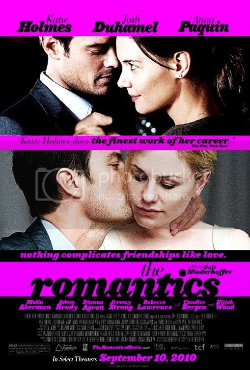 a poster from the romantics
