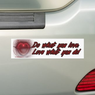 Do & Love bumpersticker