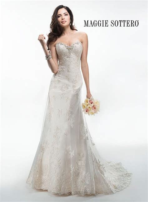 1000  images about Maggie Sottero gowns in store on
