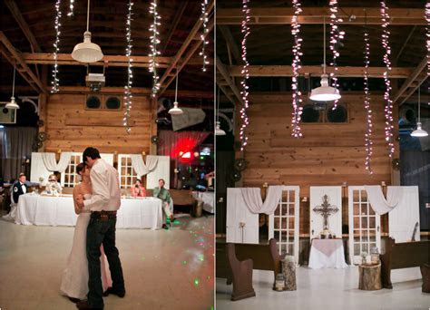 Texas Barn Wedding With Country Wedding Decorations