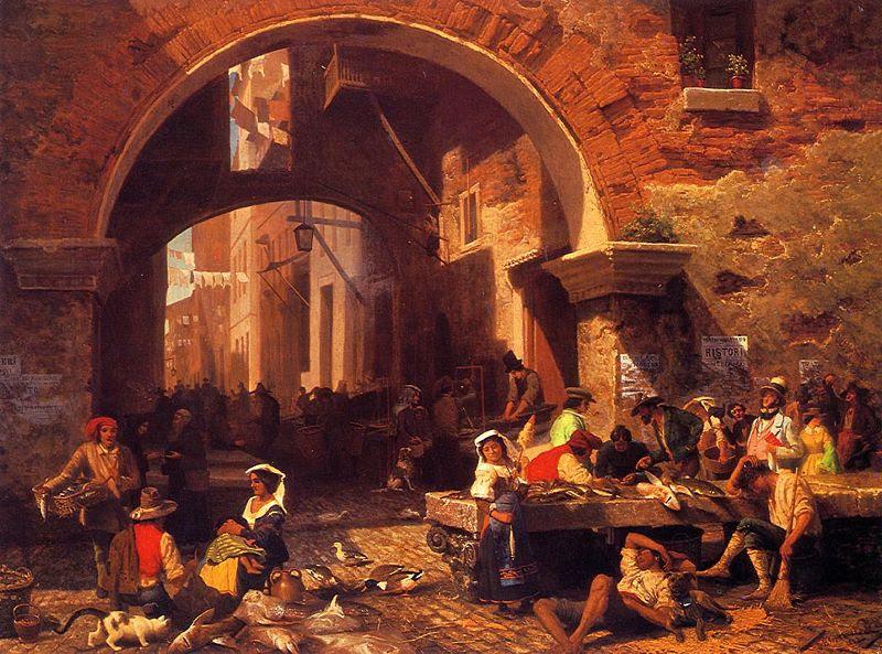 File:Bierstadt Albert The Portico of Octavia.jpg