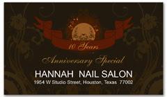 CPS-1069 - salon coupon card