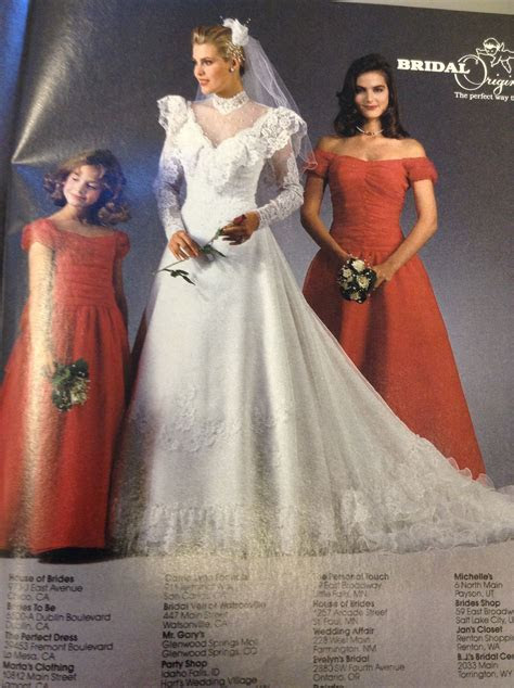 1987 brides magazine   Vintage Weddings in 2019   Wedding