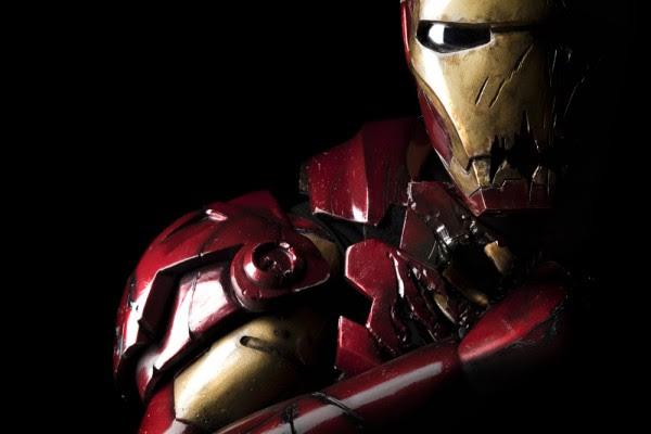 Cosplay Iron Man Zombie