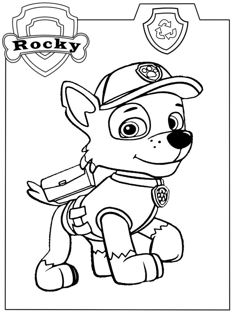 Descargar Gratis Dibujos Para Colorear Paw Patrol