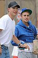 justin bieber returns to church after hitting photographer with truck 03