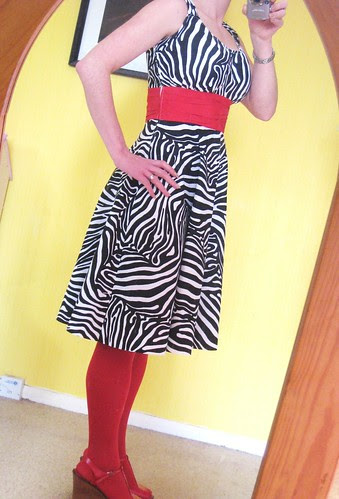 Zebra Sis Boom Jamie dress sash