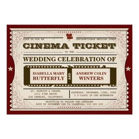 10  best ideas about Cinema Ticket on Pinterest