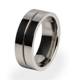Mojo   Classic Mens Titanium Ring   Titanium Rings