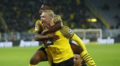 Дортмундская «Боруссия» вырвала победу у «Хоффенхайма» в матче Бундеслиги