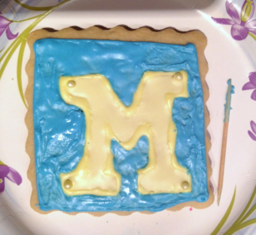 Block M cookie