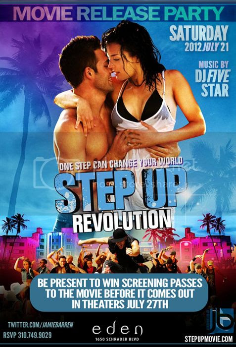 Step Up 4 Movie Release Party at Eden Hollywood