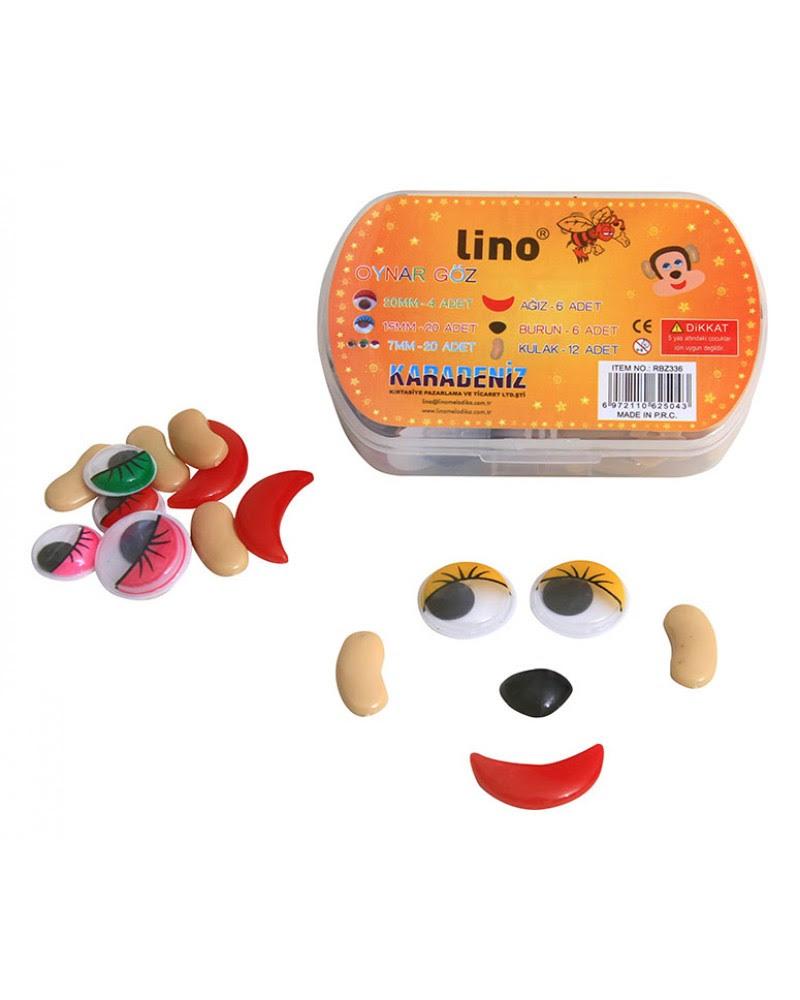 Lino Melodika Okul öncesi ürünleri Oynar Göz Burun Kulak Ağız