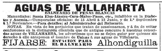 Balneario de Peñas Blancas o Santa Elisa.