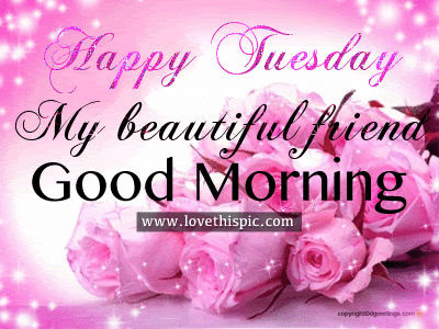 Happy Tuesday My Beautiful Friend Good Morning Pictures Photos