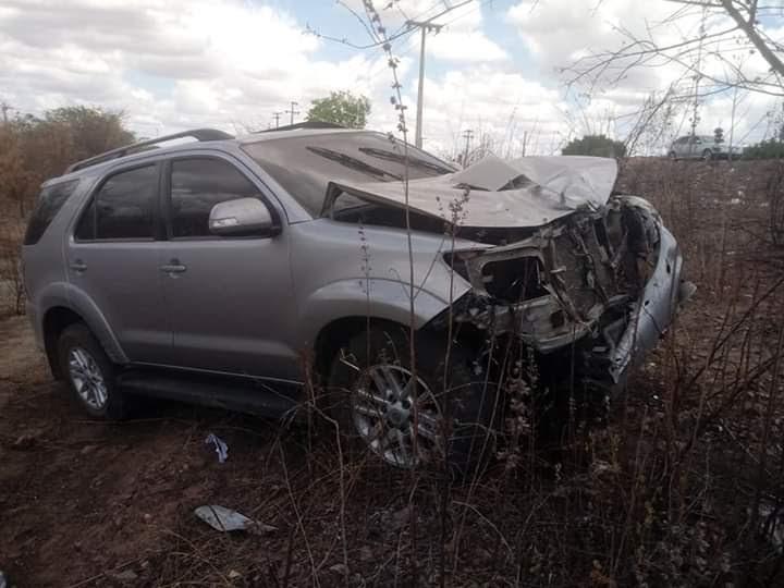 Quixadá-CE: Mototaxista morre em colisão no cruzamento da BR-122 com o bairro Boto