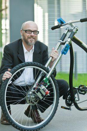 Científicos desarrollan frenos inalámbricos para bicicletas