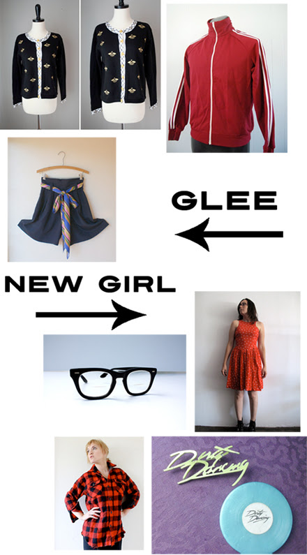 tt glee new girl
