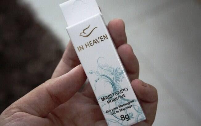 Com embalagem discreta, produtos da In Heaven leva ainda uma pomba dourada, clássico símbolo cristão. Foto: Carolina Garcia/iG São Paulo
