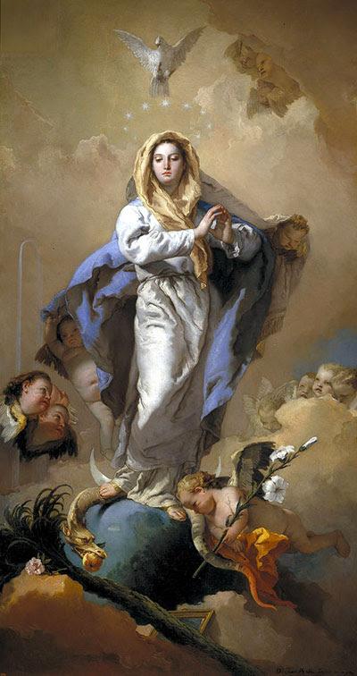 Patronne de « Vidi-Aquam » : l'Immaculée Conception