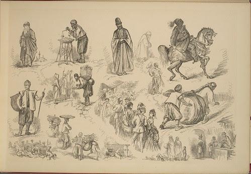 On the Nile - Paris to Marseilles vignettes (jeweller, crowds, veiled woman etc)