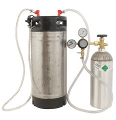Home Brewed Beer Keg System Promo Code