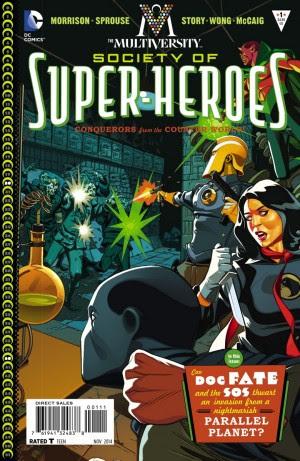 Multiversity Society of Super-Heroes #1 Spoilers #1