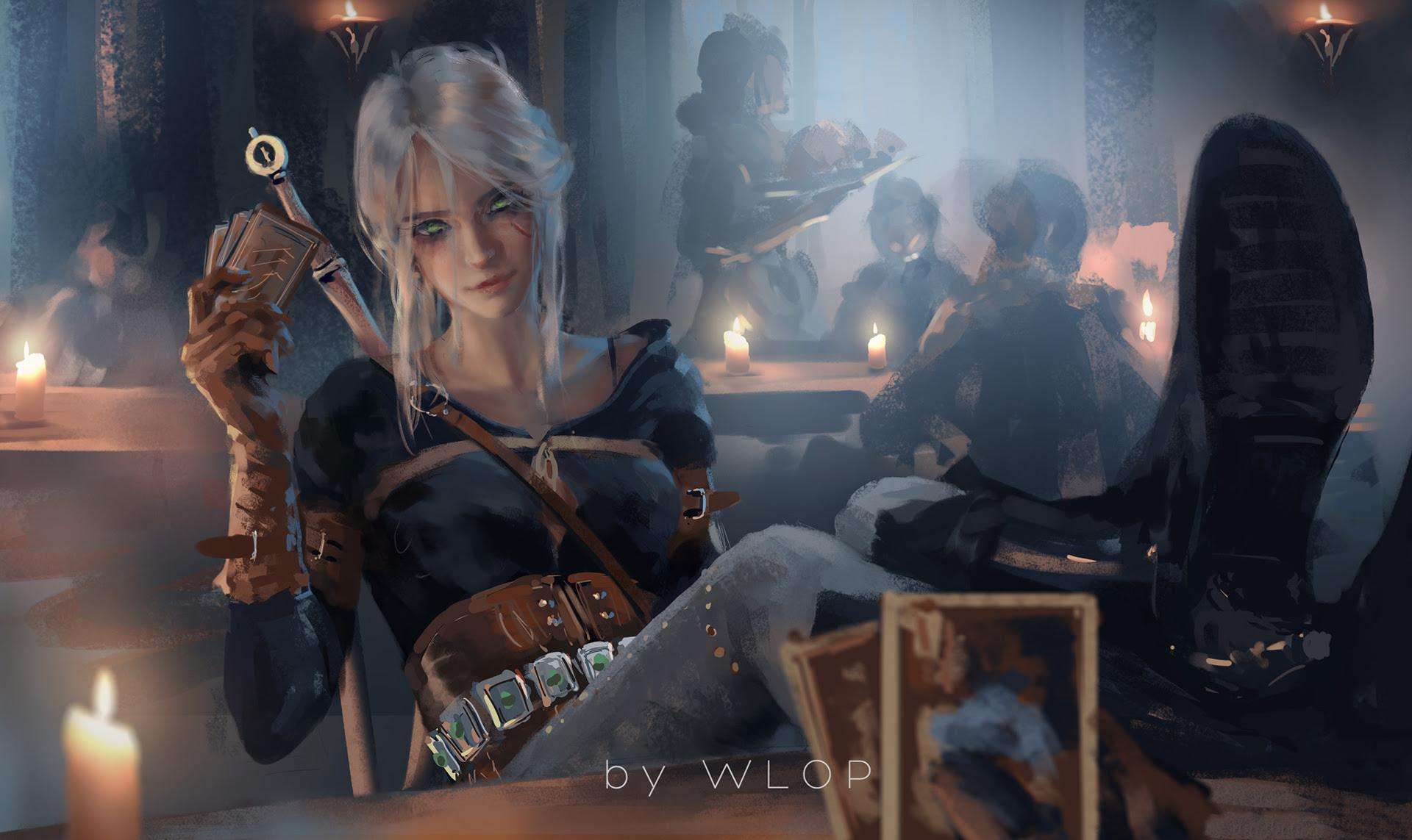 Ciri Witcher 3 Fanart Hd Games 4k Wallpapers Hd Wallpapers