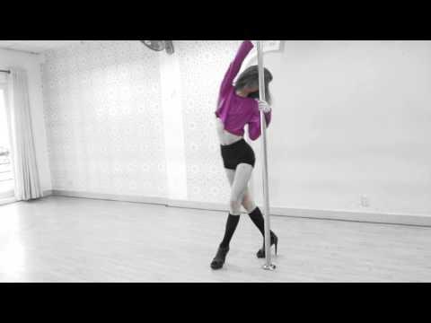 Trải nghiệm môn Pole Floor Dance tại Trung tâm Saigon Dance