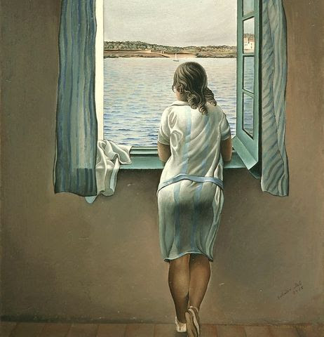 dali woman-at-window