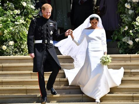 Meghan Markle's wedding dress was not too big for her